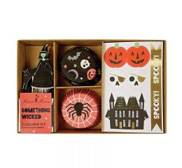Kit cup cake halloween