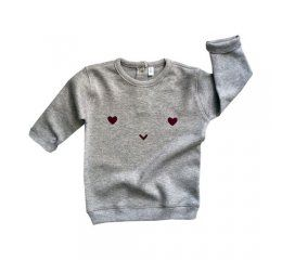 sudadera gris happy sweatshirt