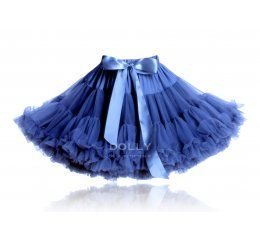 Falda tutu azul royal
