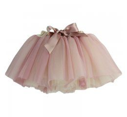 Falda tutu Fairy cream dusty