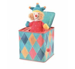 Caja musical payaso Jack in the box