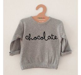 Sudadera chocolate