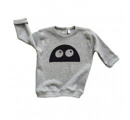 Sudadera gris Monster